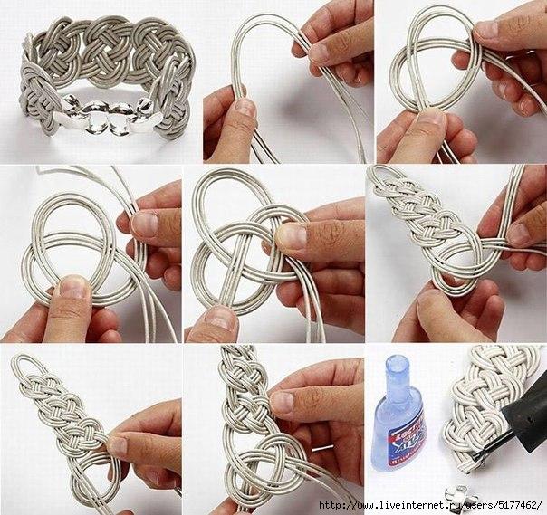 Как сделать из проволоки браслет