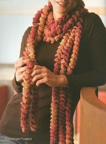 шарф-спираль