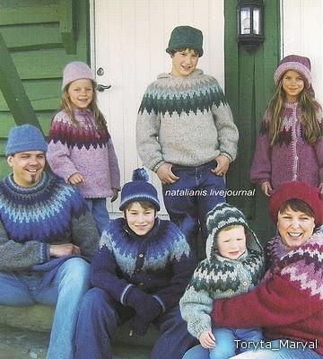 Вязание свитера на круговых спицах без шва 303