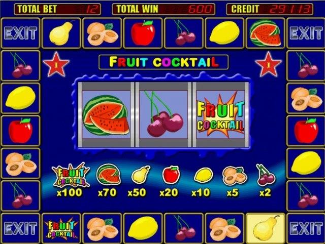 Описание игрового автомата клубничка