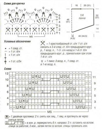 Пончо с ажурными узорами Б 1341767268_1.1.1 (354x450, 44Kb)