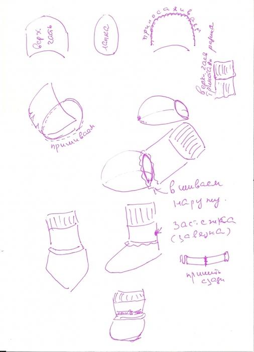 Обувь для йорков своими руками выкройки