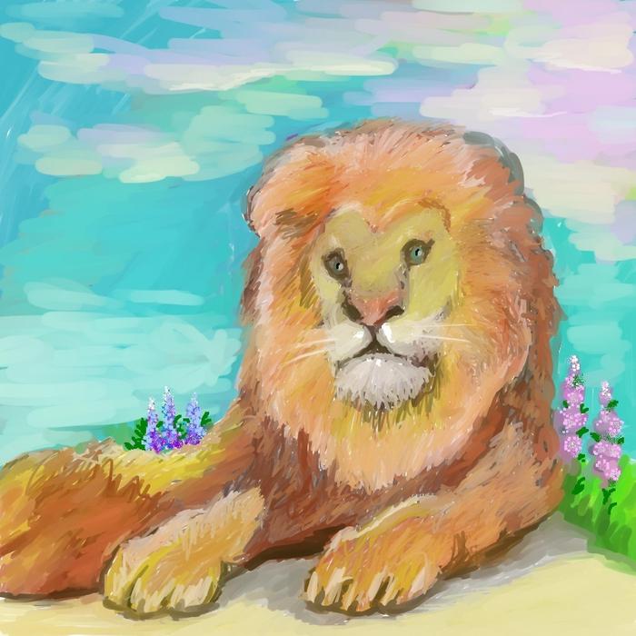 лев (700x700, 321Kb)