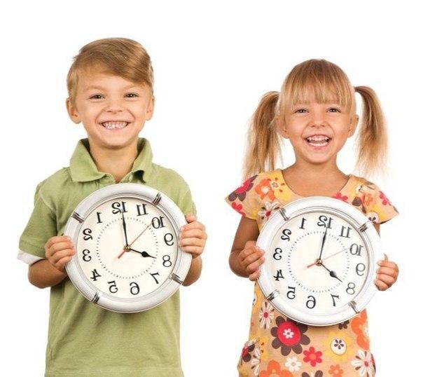 Как подружить ребенка со временем (604x538, 53Kb)