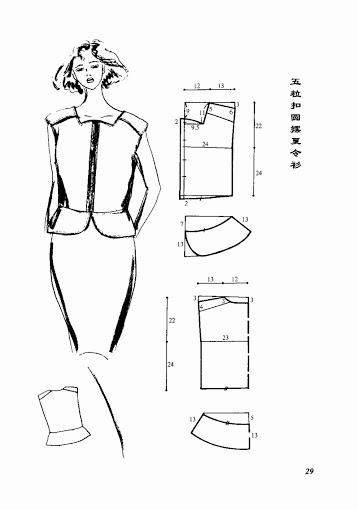 Модели топов, футболок и блузок, простые и понятные схемы выкроек.