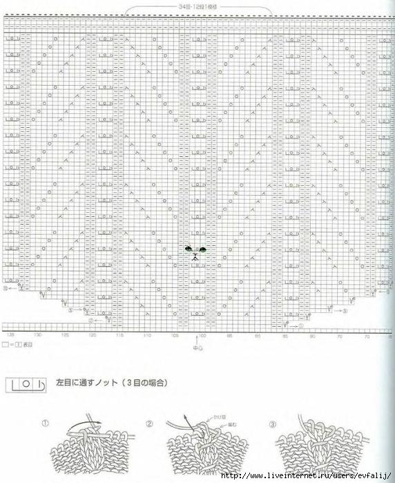 накидка спицами1-3 (572x700, 291Kb)