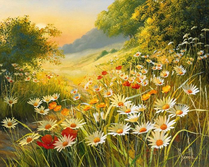 По велению души луговые цветы