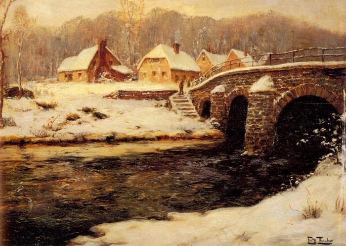_Bridge_Over_A_Stream_In_Water-vi (700x497, 186Kb)