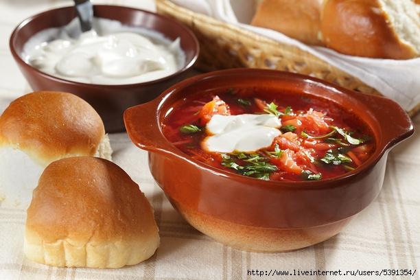рецепты от повара борщ