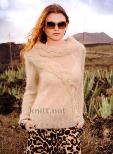pulover-spicami-s-obemnymi-kosami (366x501, 54Kb)