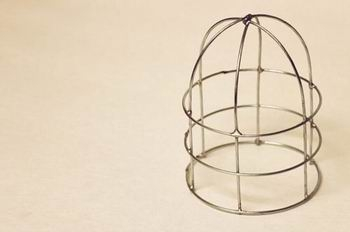 Из проволоки. Декоративная клетка для птички. Мастер-класс (5) (350x232, 28Kb)
