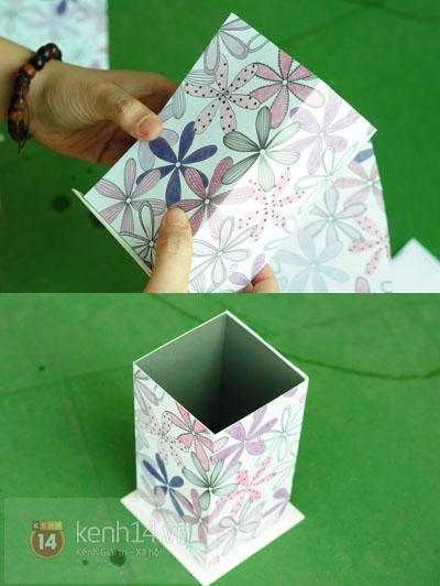 Из картона. Домик для чайных пакетиков. Мастер-класс (7) (400x532, 137Kb)