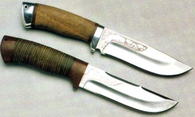 Охотничий ножи своими руками фото