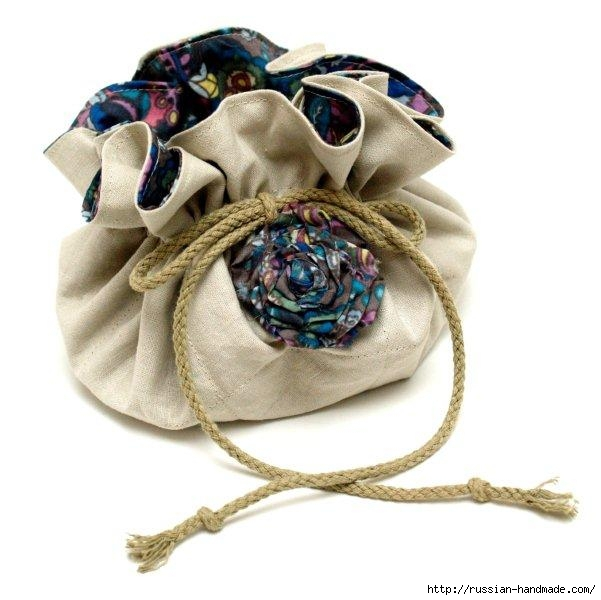 Как сшить сумочку-мешочек для бижутерии (13) (601x600, 141Kb)