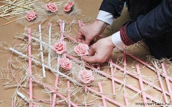 бамбуковая валентинка с розочками и ковылью (9) (594x369, 171Kb)