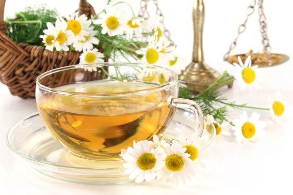 Как сделать чай из ромашки для детей