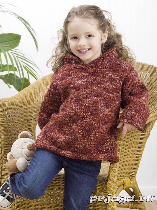 Простые детские свитера