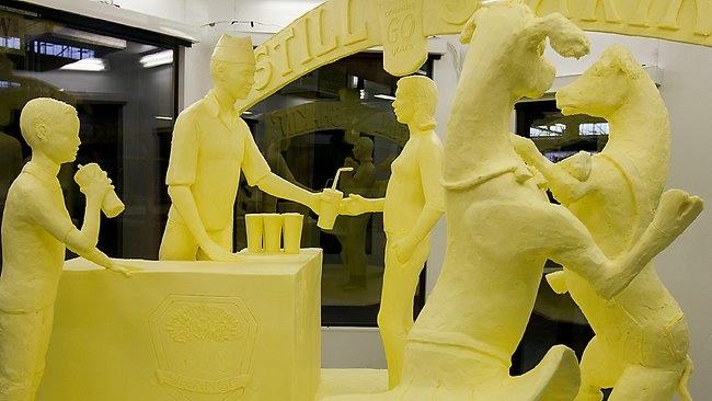 скульптуры из масла Джими Виктор 8 (650x366, 114Kb)