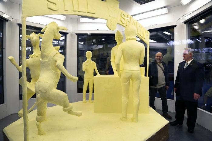 скульптуры из масла Джими Виктор 14 (700x466, 216Kb)