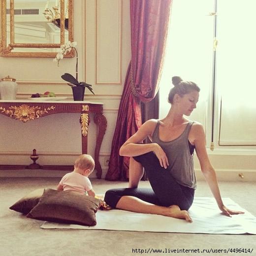 gisele-bundchen-vivian-yoga-instagram (520x520, 152Kb)
