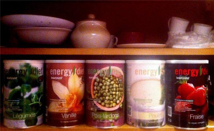 покупаю несколько вкусов Energy Diet,чтобы было разнообразие. Слева направо овощи, ваниль, горох с копчёностями, курица, клубника./1391596351_d0fd8329fc9e (700x429, 63Kb)