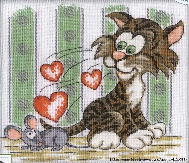 Схема мышь и кота