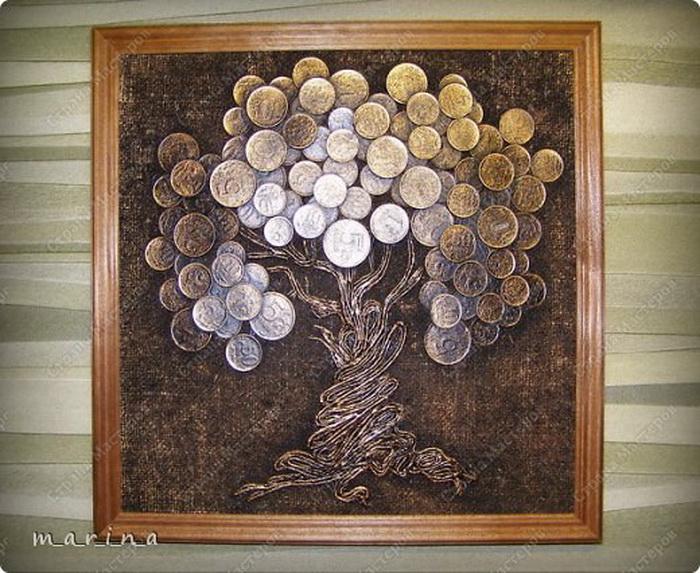 Картины своими руками деревья