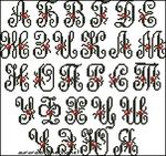 Превью zu---monogram-rose (453x426, 182Kb)