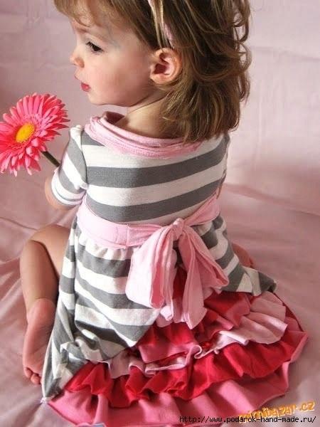 платьице для  девочки (450x600, 129Kb)