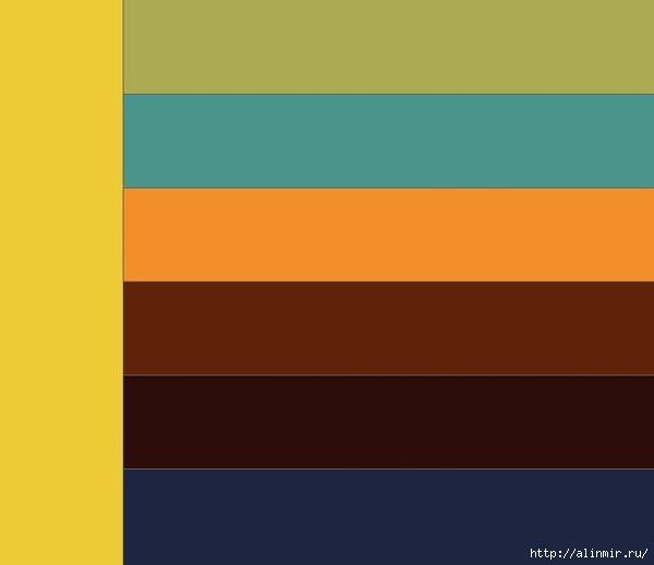 стиль в одежде сочетание цветов3 (600x518, 27Kb)