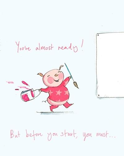Как нарисовать свинью?