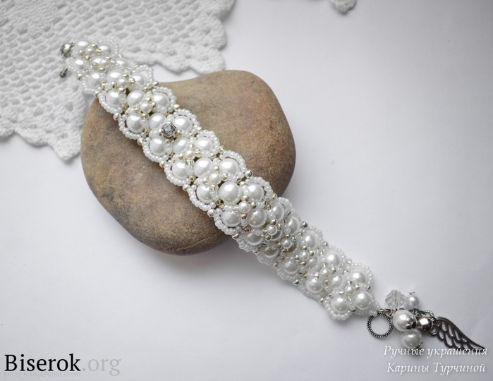 2. 1. Давайте сделаем очень красивый, оригинальный браслет своими руками. .  Делюсь мастер-классом по плетению.