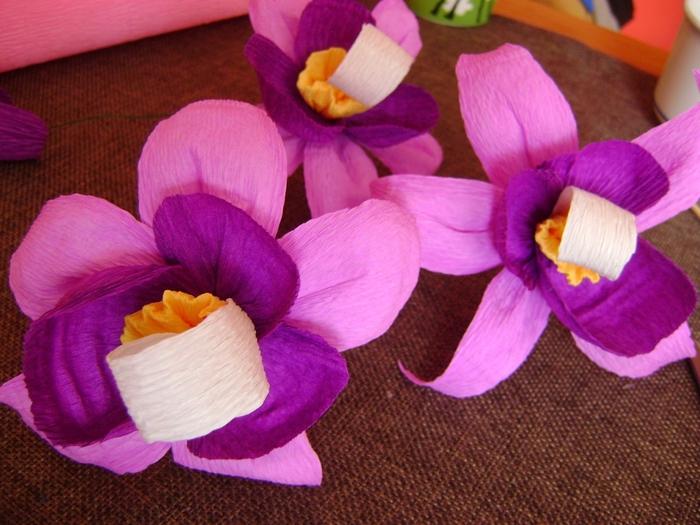 Орхидея из гофрированной бумаги. Мастер-класс (13) (700x525, 286Kb)