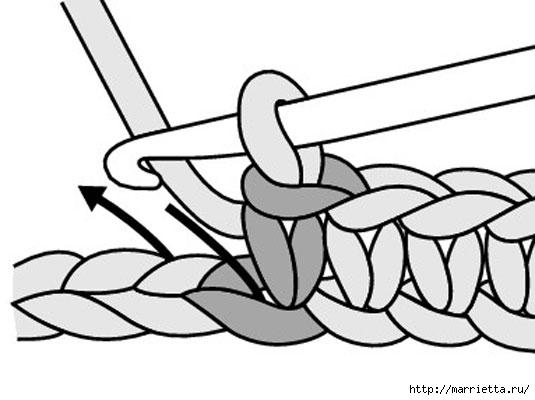 как вязать амигурами (8) (535x400, 75Kb)