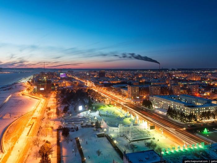 Благовещенск - город на Дальнем Востоке, административный центр Амурской об