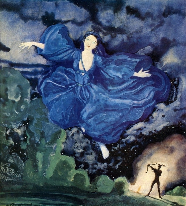 2 К.А.Сомов. Синяя птица. 1918. (632x700, 364Kb)