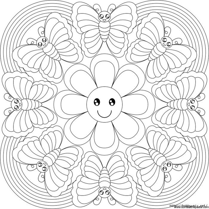 rainbow_butterfly_sm_mandala (700x700, 398Kb)