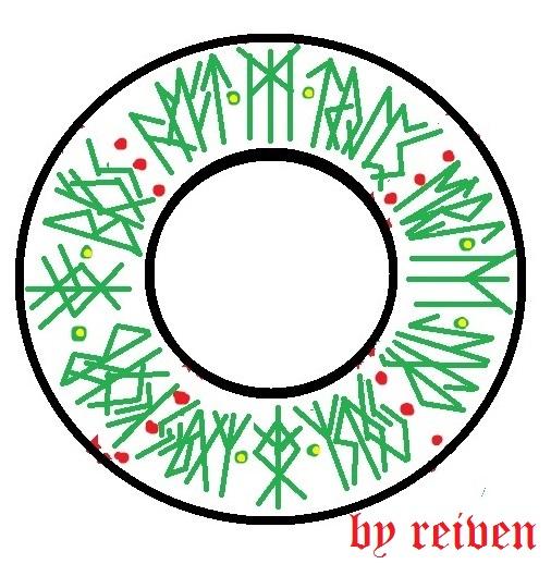 Рождественский бублик (506x518, 102Kb)