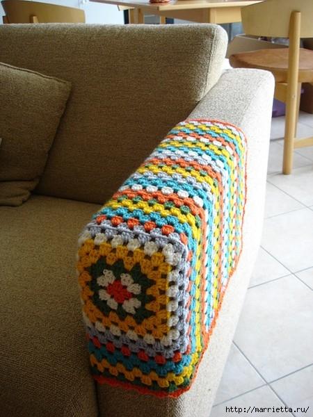 подлокотник для дивана крючком (450x600, 196Kb)