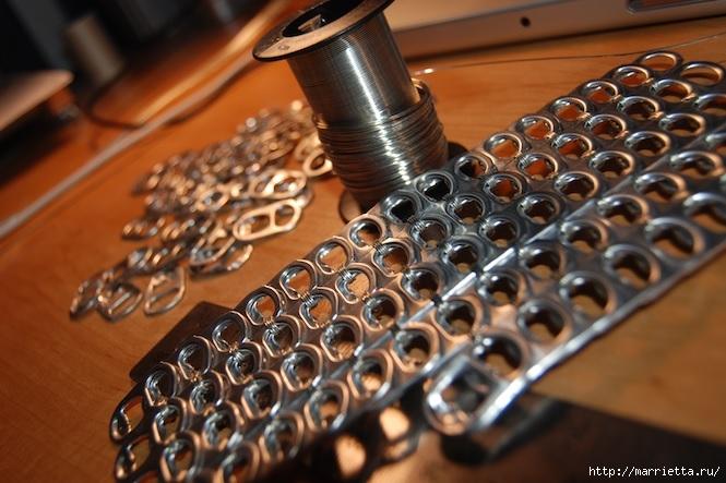 Стильные сумочки из баночных ключей (1) (665x443, 202Kb)