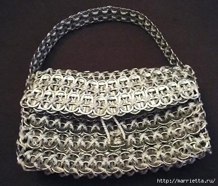 Стильные сумочки из баночных ключей (3) (450x383, 120Kb)