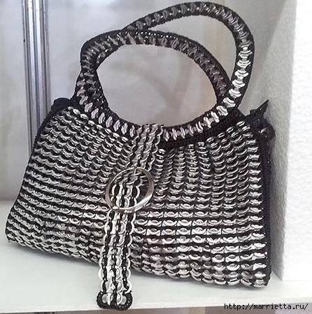 Стильные сумочки из баночных ключей (4) (446x449, 173Kb)