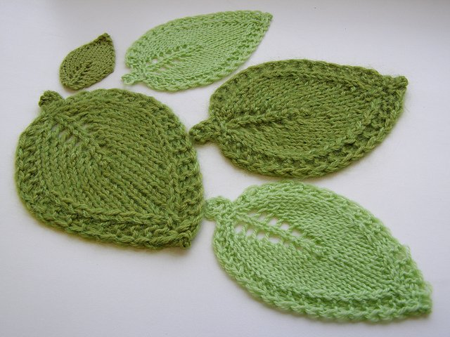 Легкие листовидные мочалки-