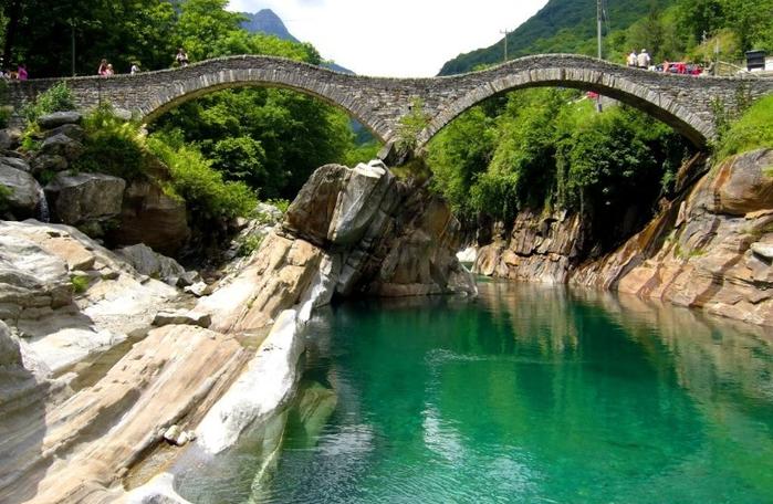 горная река верзаска швейцария фото 1 (700x456, 399Kb)