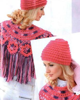 Вязание: шапочка спицами и