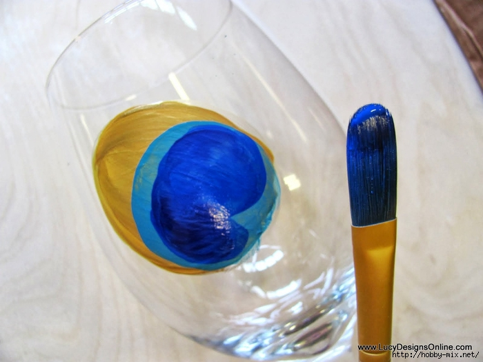 peacock wine glasses 005 (700x525, 197Kb)