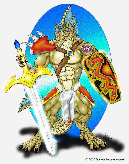 Lizardfolk_Champion (550x700, 255Kb)