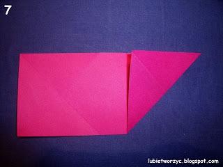 Сердечки-валентинки оригами из бумаги для украшения подарка (7) (320x240, 44Kb)