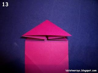 Сердечки-валентинки оригами из бумаги для украшения подарка (13) (320x240, 42Kb)