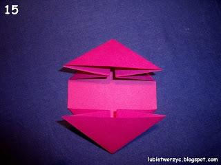 Сердечки-валентинки оригами из бумаги для украшения подарка (15) (320x240, 52Kb)